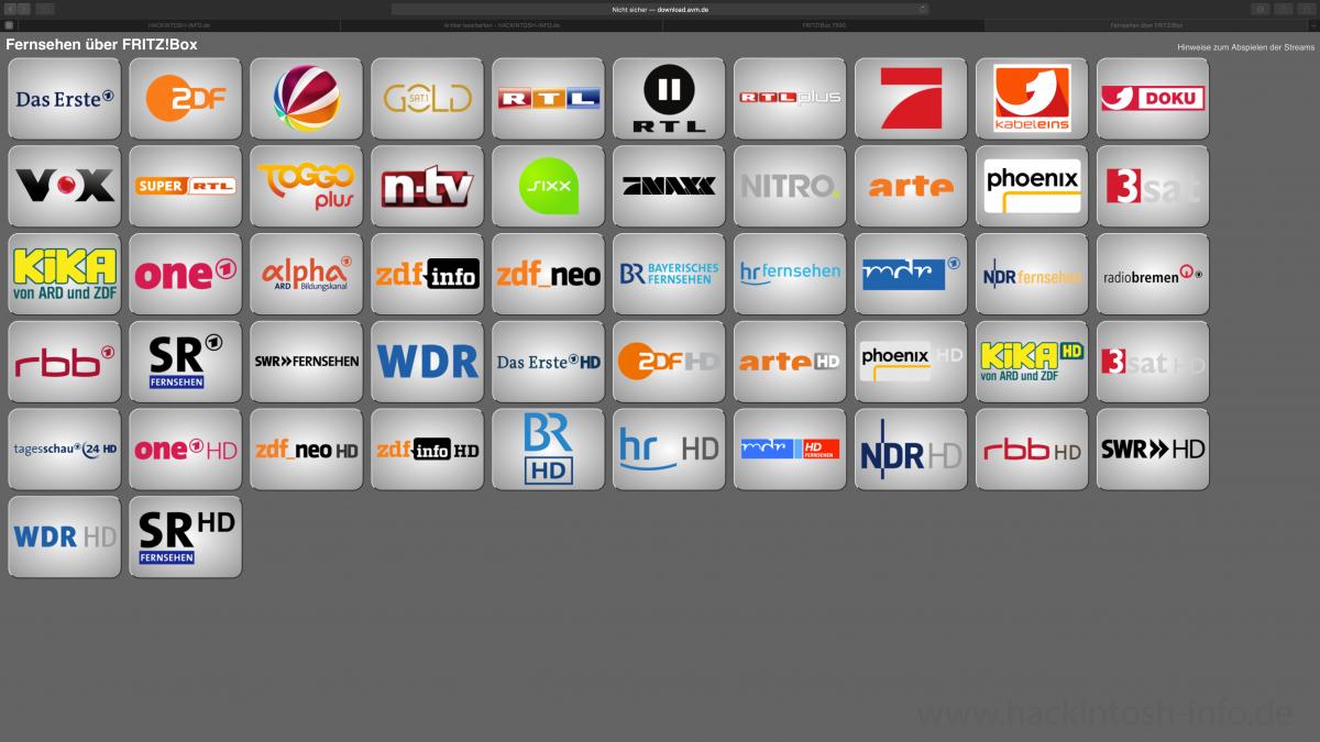 Fritz Live Tv
