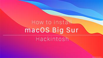 macOS Big Sur Hackintosh-Forum